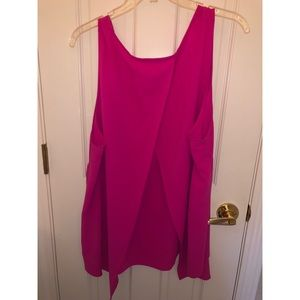 Forever 21+ Hot Pink Tank Top w/slit (3X)